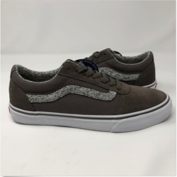 Vans Mens 9 Shoes Ortholite Ward Deluxe Hygge Gray dbb7a7707